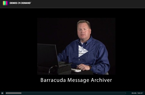 Barracuda Message Archiver Video